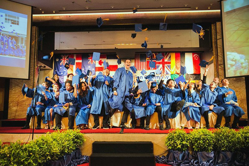 NIST International School's Class of 2014