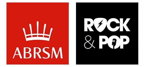 ABRSM and Trinity Exam Logos