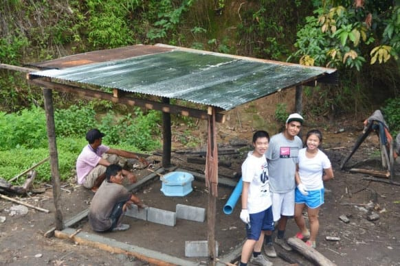 NIST Maeramit Development Group - Constructing Bathrooms