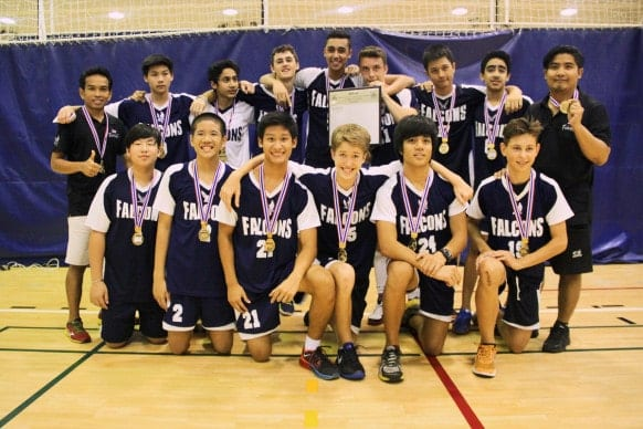 NIST BISAC U15 Boys Volleyball Champions