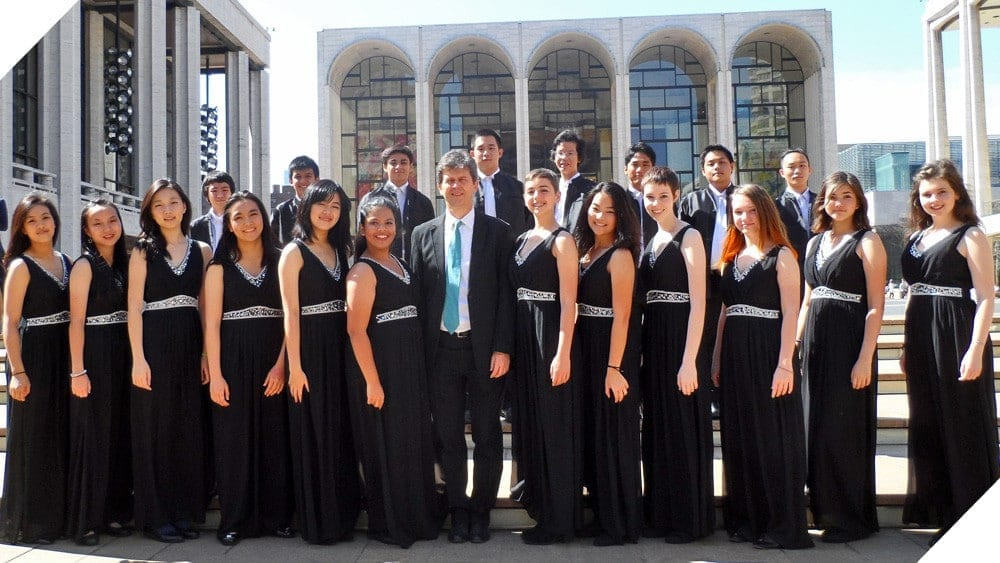 NIST Concert Choir at Lincoln Center in New York