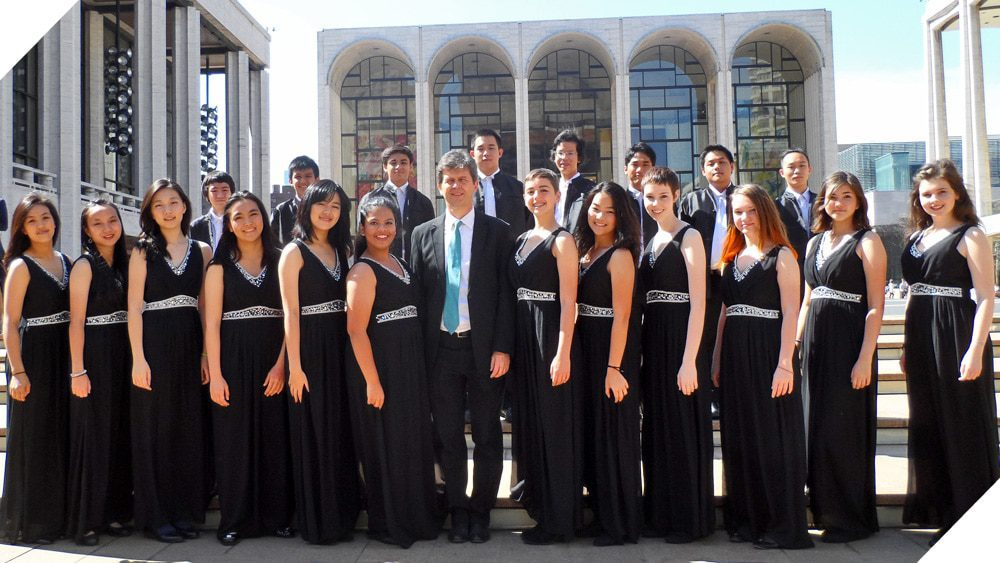 Concert Choir Performs at Lincoln Center in NYC