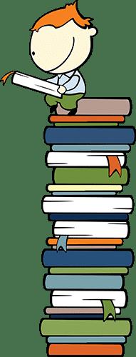 10000 Book Challenge Graphic