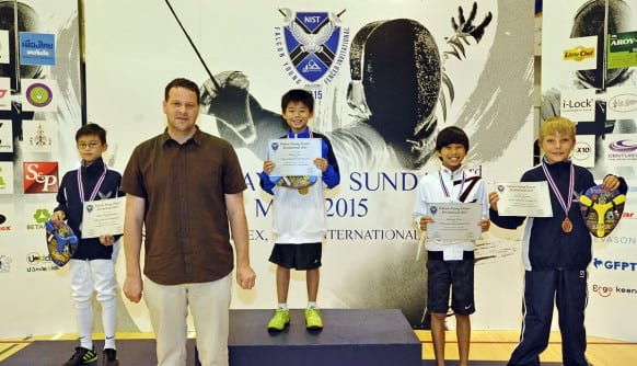 NIST 2015 Falcon Young Fencer Invitational - U12 Boys