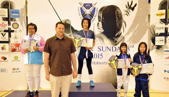 NIST 2015 Falcon Young Fencer Invitational - U12 Girls