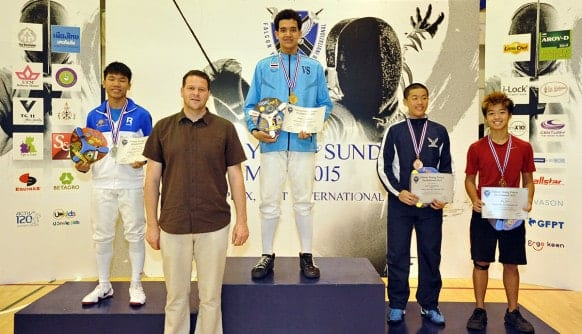 NIST 2015 Falcon Young Fencer Invitational - U20 Boys