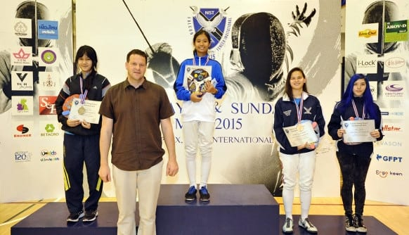 NIST 2015 Falcon Young Fencer Invitational - U20 Girls
