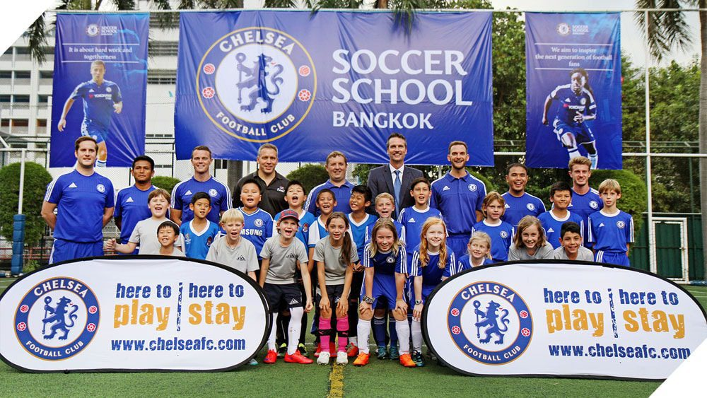 Chelsea FC Soccer School at NIST Official Launch