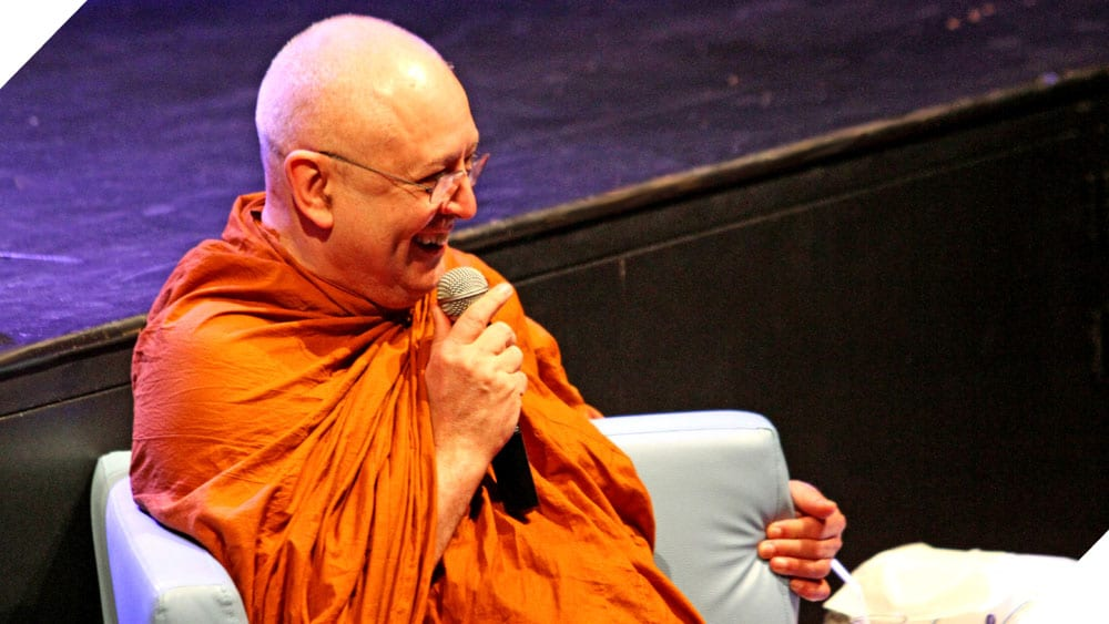 Ajahn Braham Visits NIST International School