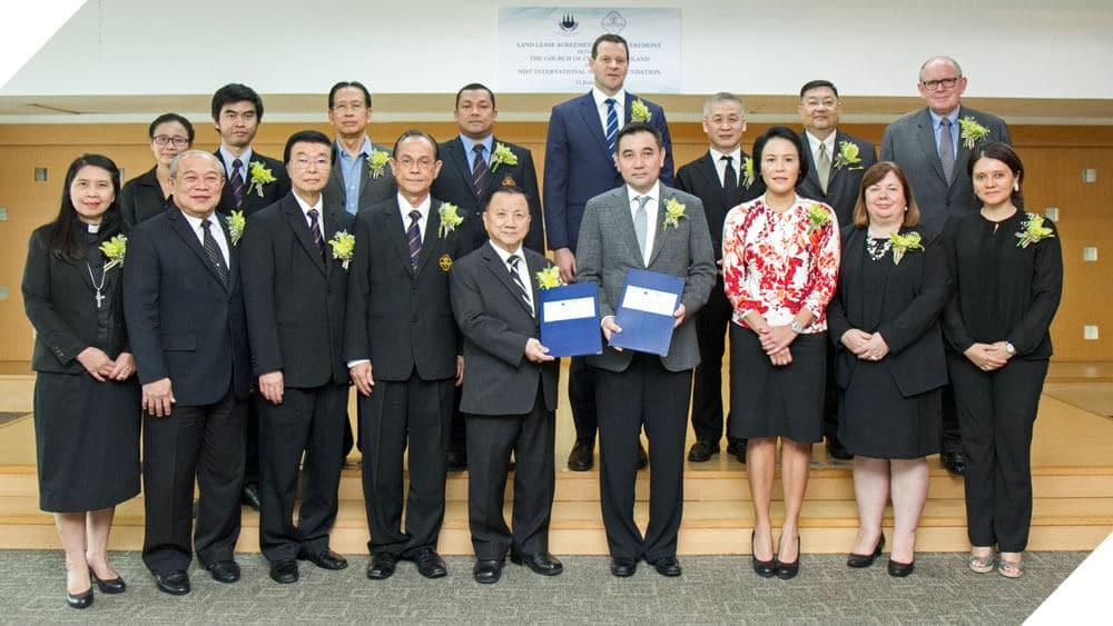 NIST International School Bangkok Lease Signing Ceremony 01