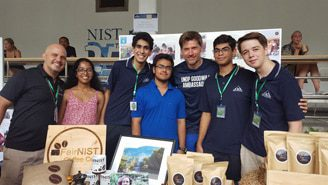 Nikolaj Coster Waldau at NIST International School in Bangkok, Thailand