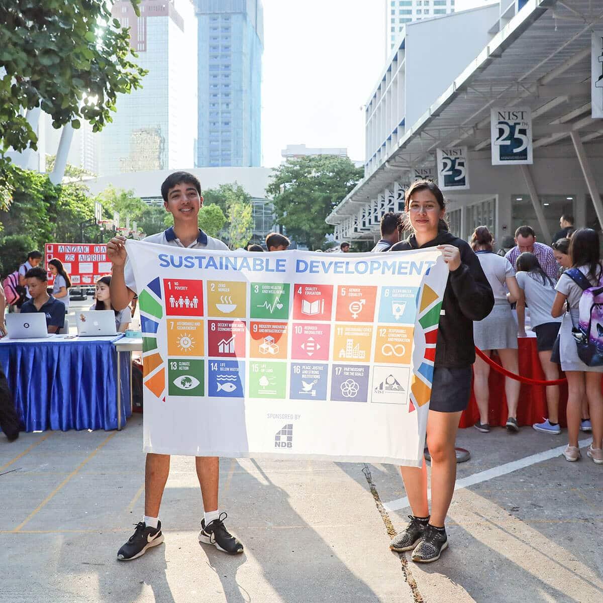 Service Learning at NIST International School Bangkok - Action