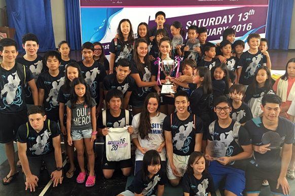 2016 ANS Titans Sprint Challenge Champions