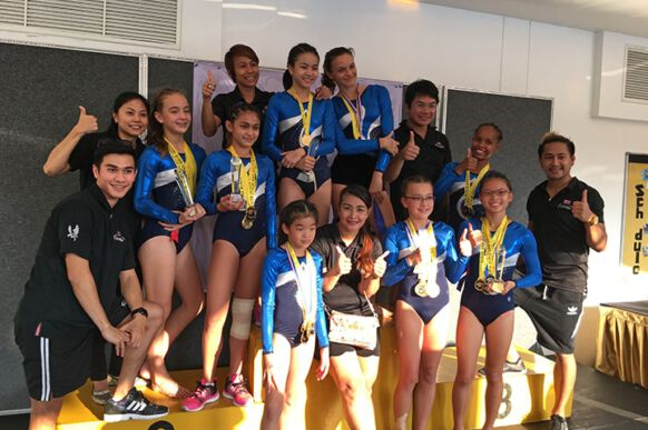 2016 ISB Black and Gold Gymnastics Competition Champions