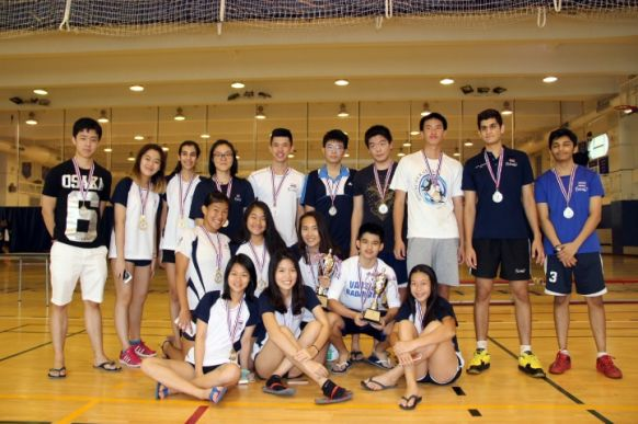 NIST Falcon Friendship Badminton Tournament Champions & Runners-up