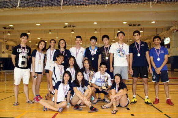 NIST Falcon Friendship Badminton Tournament Champions & Runners-up