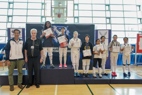 NIST Fencing Club - Under 12 Girls