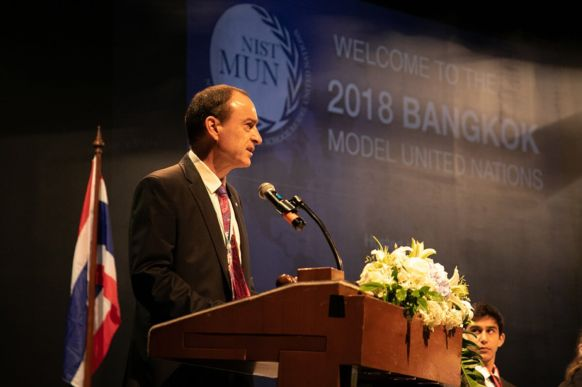2018 Bangkok Model United Nations Conference at NIST 1