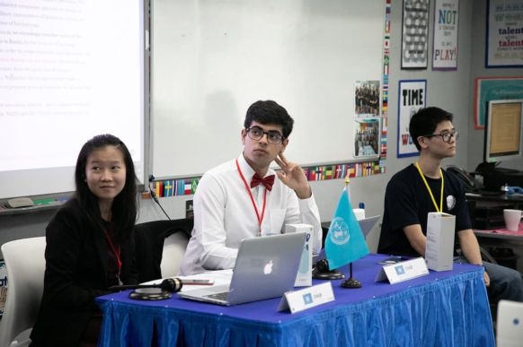2018 Bangkok Model United Nations Conference at NIST 7