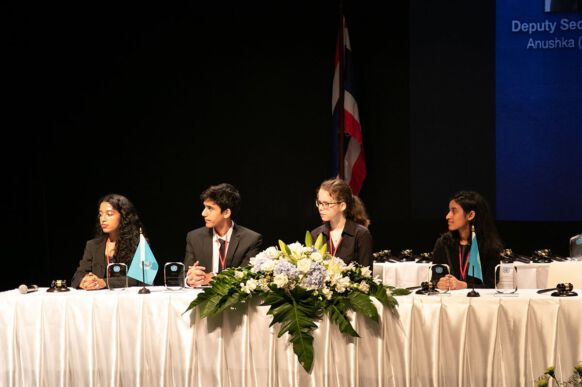 2018 Bangkok Model United Nations Conference at NIST International School in Bangkok, Thailand