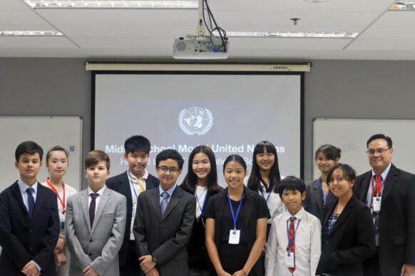 Middle School Model United Nations - NIST International School in Bangkok, Thailand